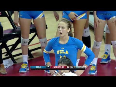 UCLA at Nebraska - NCAA Women's Volleyball (Sept 9th 2017)