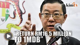 Declare it's not 1MDB money, Guan Eng dares Wee Ka Siong