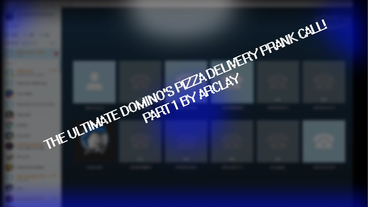 The Ultimate Domino S Pizza Delivery Prank Call Part1 Youtube