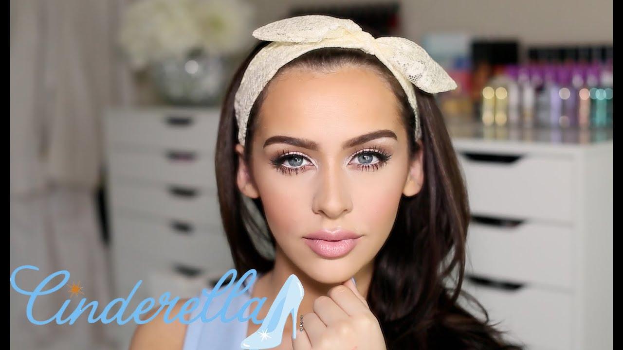 Cinderella Glam Makeup Tutorial Youtube