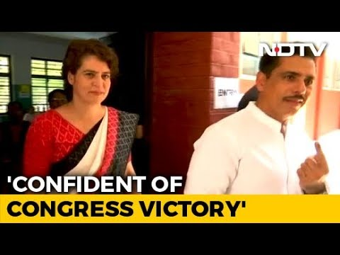 BJP Government Is On Its Way Out: Priyanka Gandhi After Voting In Delhi