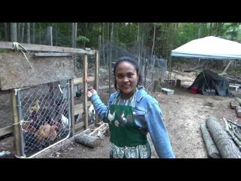 Homestead Family Work & Enjoying Garden Harvest