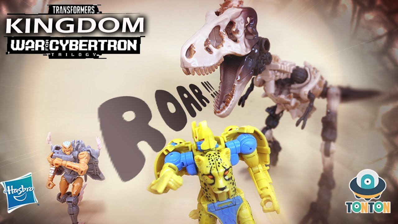 Transformer Jurassic Kingdom Fossilizer Excavation Stop-motion Animation