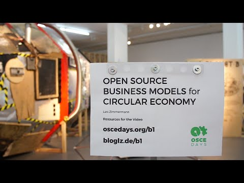 Open Source Business Models for Circular Economy – Video 5/9 – Enabled Roles and Actions