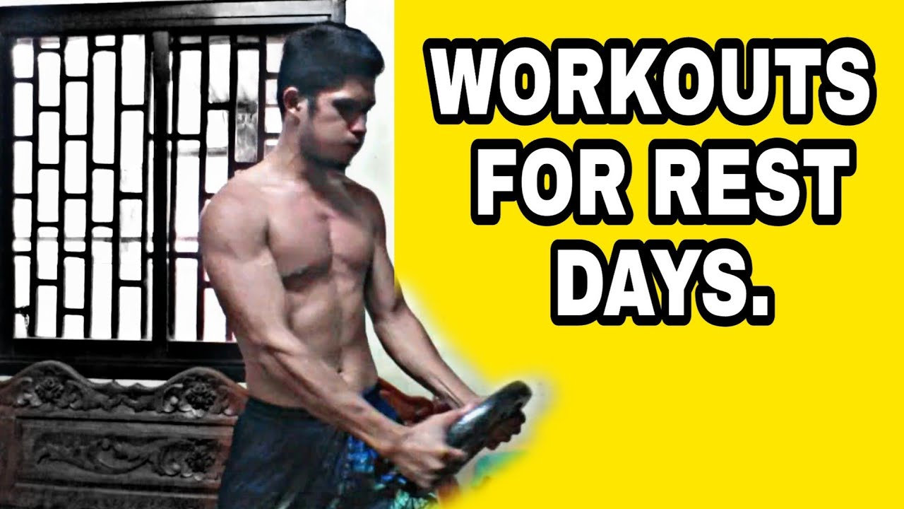 REST DAY WORKOUTS at ACTIVE REST | Darwin Dunks
