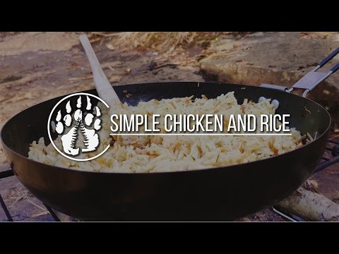 Woodland Cooking: Chicken and Rice