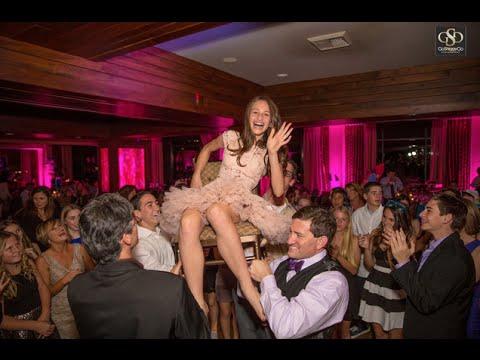 Havis WOW Bat Mitzvah Ceremony Reception Hora Chair Dance