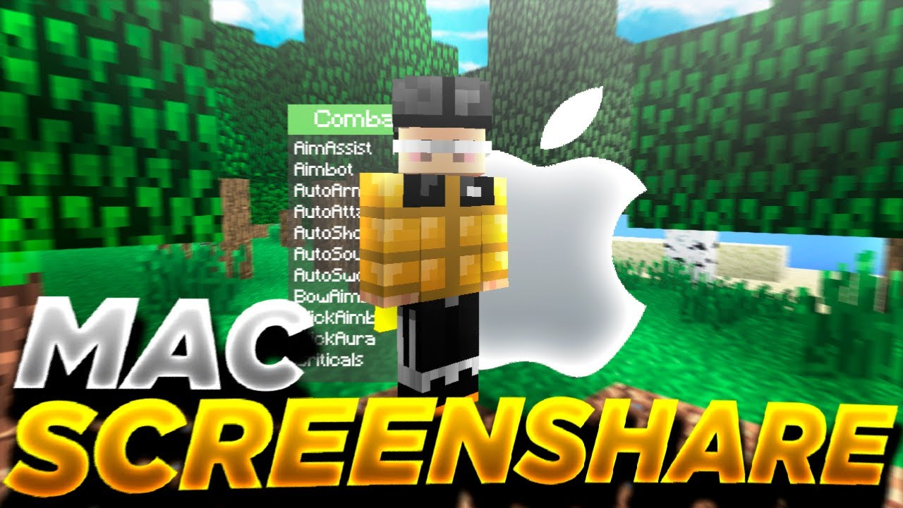 I found a HACKED CLIENT on a MAC *screenshare* + FUNNIEST BAN APPEAL EVER!