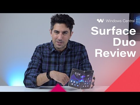 Surface Duo Review: A Dual-Screen Phone of Tomorrow ... That's Not Quite Ready Today