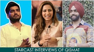 Watch Qismat Full Punjabi Movie Promotions Coverage by Punjabi Mania | Ammy Virk, Sargun Mehta