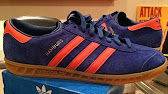 hot sale online e7d39 7d2a0 Обзор на Adidas Hamburg - YouTube