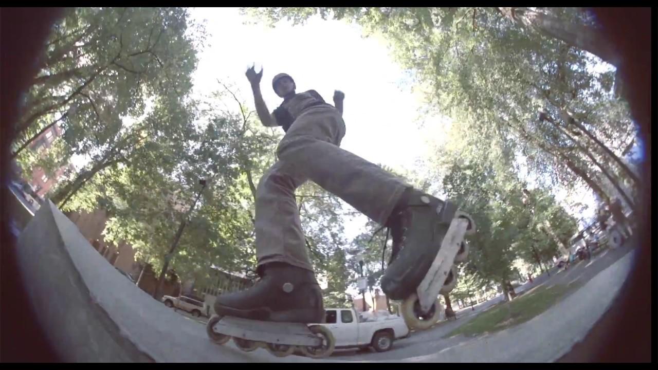 6c81e62701 Dustin Jamieson - Inline Skating - Wizard Frame - YouTube