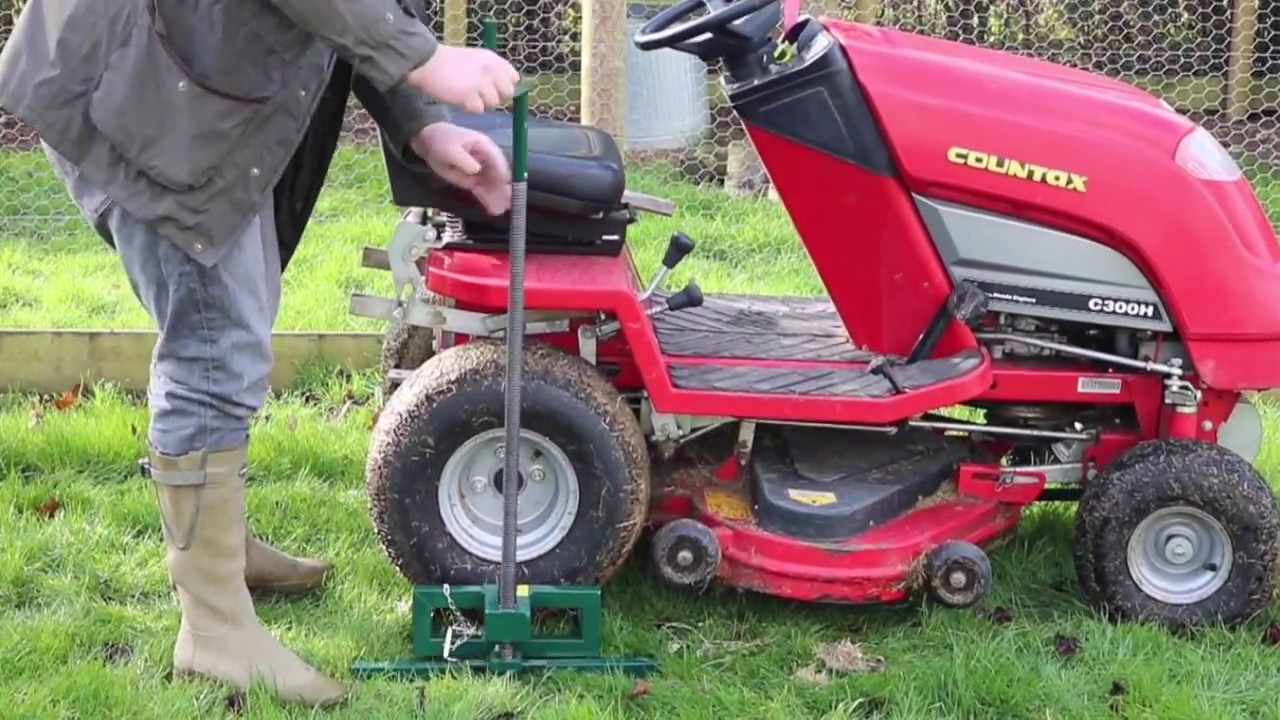 Oypla Guide How To Use A Sit On Lawn Mower Farm Jack