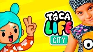 СМЕШНОЕ ВИДЕО ДЛЯ ДЕТЕЙ Новый игровой мультик ТОКА ЛАЙФ ГОРОД детская игра Toca Life