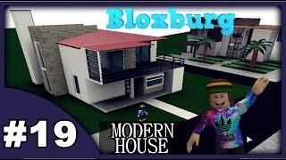 WILLKOMMEN IN BLOXBURG - BUILD MODERN HOUSE - VILLAGE MODERN - ROBLOX #19