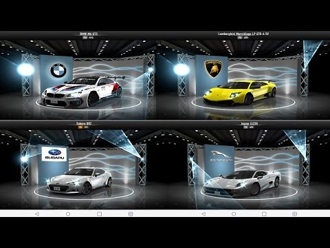 Csr racing - All new cars ( August 2016 )
