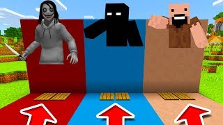Minecraft PE : DO NOT CHOOSE THE WRONG PRESSURE PLATE! (Jeff The Killer, Null & Notch)
