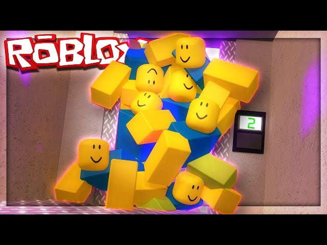 ELEVATOR FULL OF ROBLOX NOOBS! (The Elevator Remade)