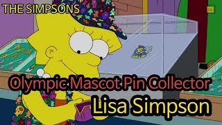 Olympic Mascot Pin Collector, Lisa Simpson