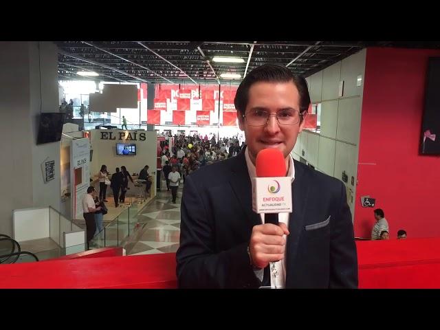 Gerardo Steta desde la edición 2015 de la FIL