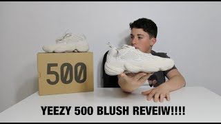 9a1e46136c8d7 Hypbeast Yeezy 500 Blush Review And Unboxing Must Watch)