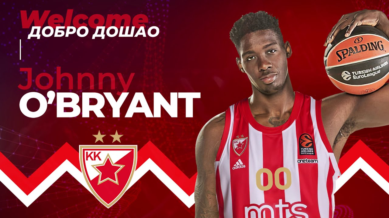 Johnny O'Bryant III | Welcome to BC Crvena zvezda mts Belgrade