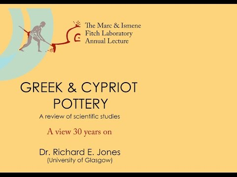 "Dr Richard Jones ""Greek and Cypriot Pottery"""