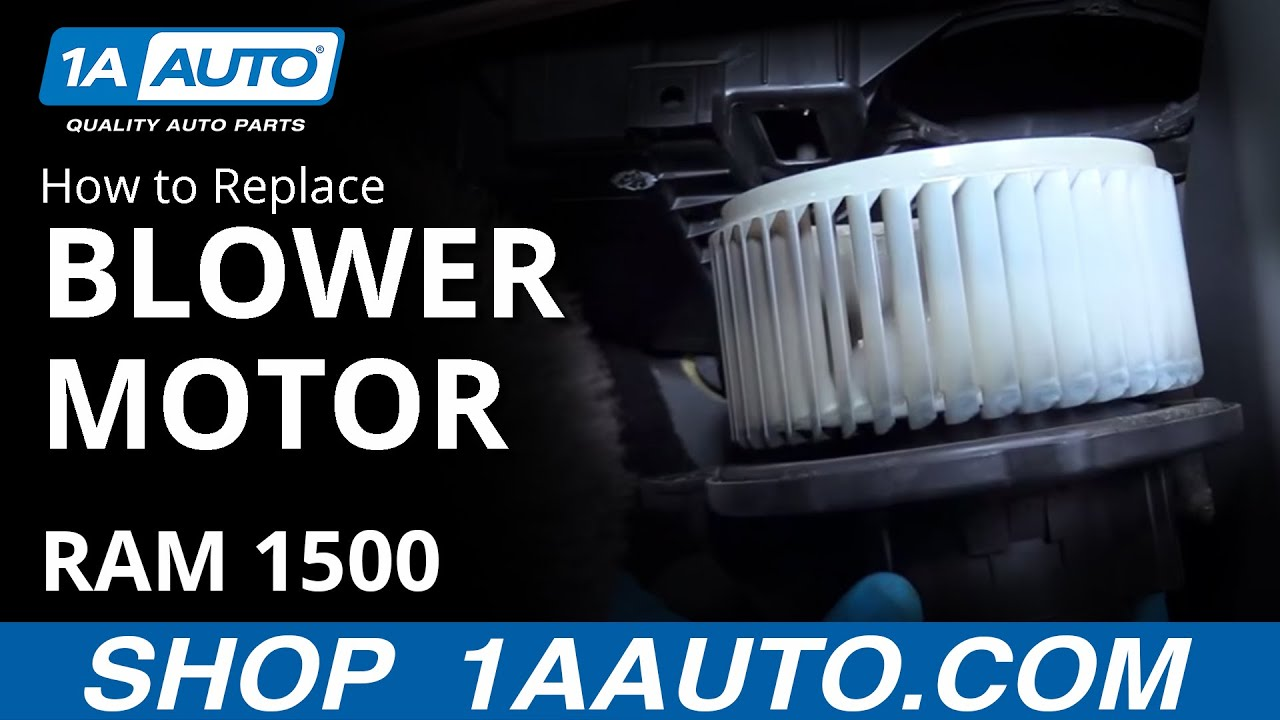 How to install replace blower motor fan 2008 dodge ram buy for Dodge ram blower motor not working