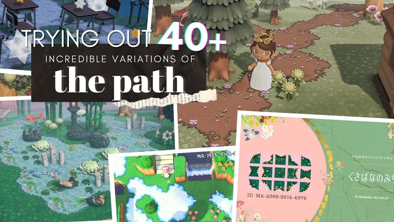 Trying Out 40 Versions Of The Path Animal Crossing New ...