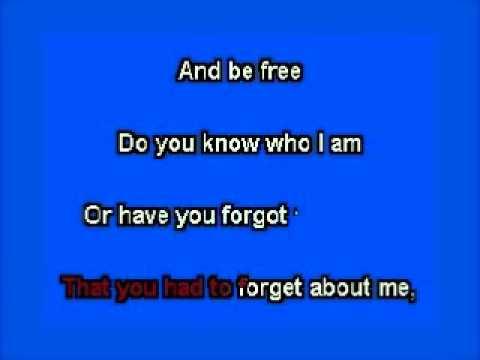 elvis karaoke do you know who i am