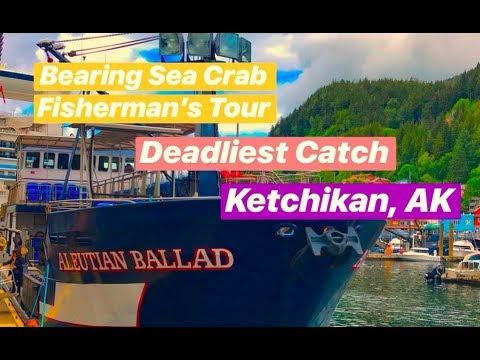 BERING SEA CRAB FISHERMEN'S TOUR | DEADLIEST CATCH | KETCHIKAN, AK