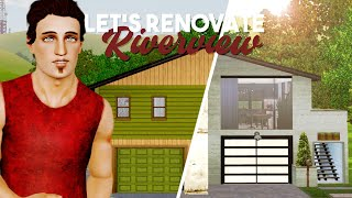 Let's Renovate Riverview || The Garage Apartment 🏠🔨 || The Sims 3