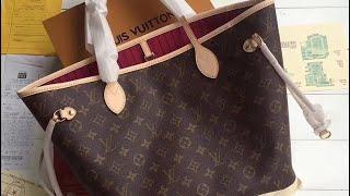 Unboxing a Louis Vuitton purse