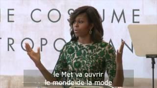 L'hommage de Michelle Obama à Anna Wintour
