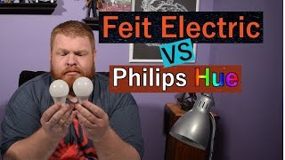 Feit WiFi Smart Bulbs: Unboxing and comparison to Philips Hue