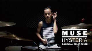 Download lagu MUSE - HYSTERIA | Drum Cover Bohemian Drums