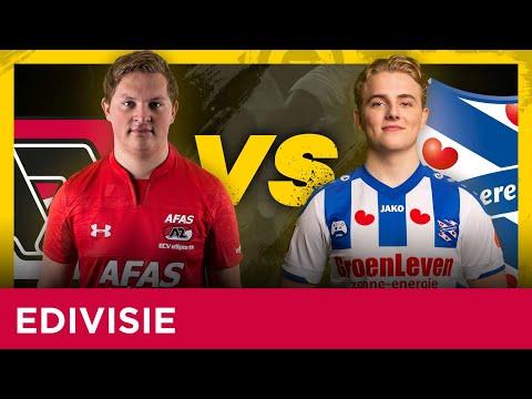 Goals AZ - sc Heerenveen | eDivisie