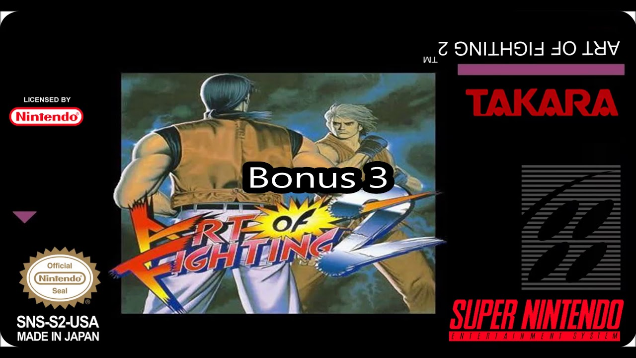 Art Of Fighting 2 Snes Original Soundtrack Youtube
