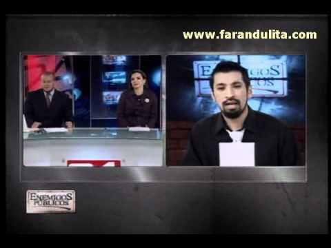 Enemigos Publicos 28-09-2011 Aldo Miyashiro pone fin a gresca con Magaly Medina
