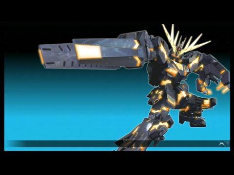 【EXVSFB】バンシィ(デストロイモード)有力コンボ集【デスコン魅せコン】