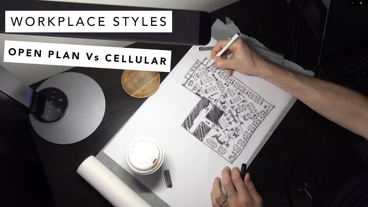 Workplace styles-Open plan Vs Cellular office design (part 2 of 3)