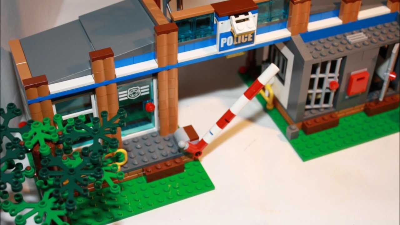 Lego City Forest Police Station Youtube