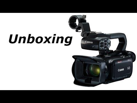 Canon XA11 Unboxing | LIVESTREAM