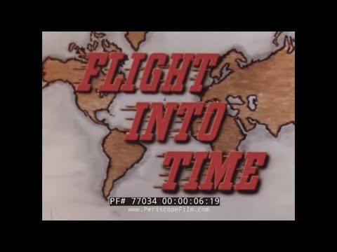 TRANS WORLD AIRLINES  FLIGHT INTO TIME 1940s EUROPE & HOLY LAND TRAVELOGUE 77034