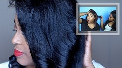 MY HAIR FELL OUT! | Color Treated Relaxed Hair Update *Live Footage*