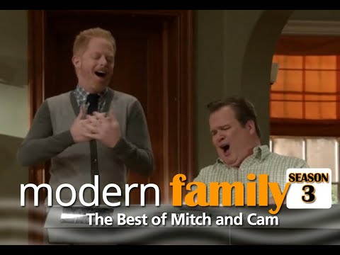Modern Family - Best Mitch And Cam Moments (Season 3)
