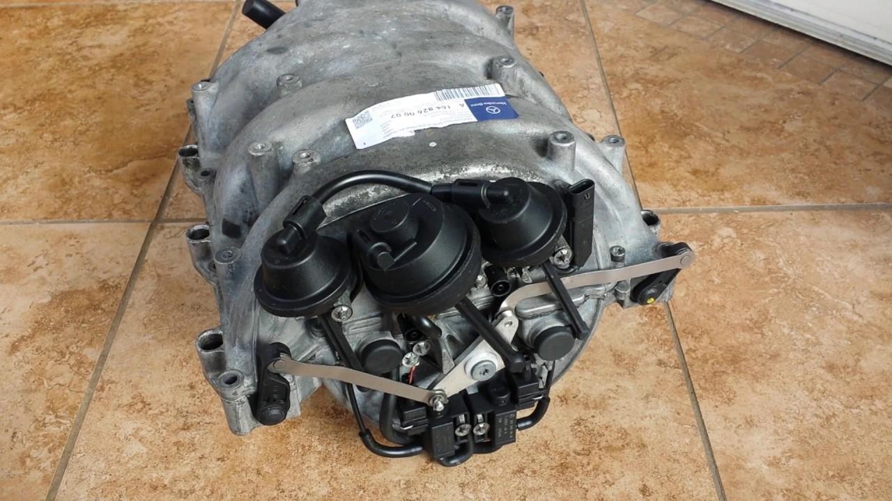 Mercedes Air Intake Manifold Failure Explanation