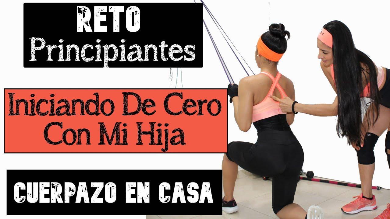 RETO #CUERPAZOencasa PRINCIPIANTES / Día Jueves / Rutina Espalda Pecho Abdomen Y Hombro.
