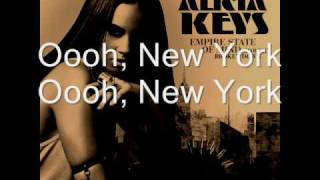 Alicia Keys - Empire State Of Mind (Part II) Broken Down LYRICS.wmv