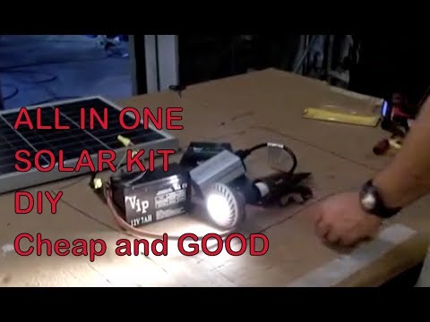 Solar Power low cost DIY All in one system
